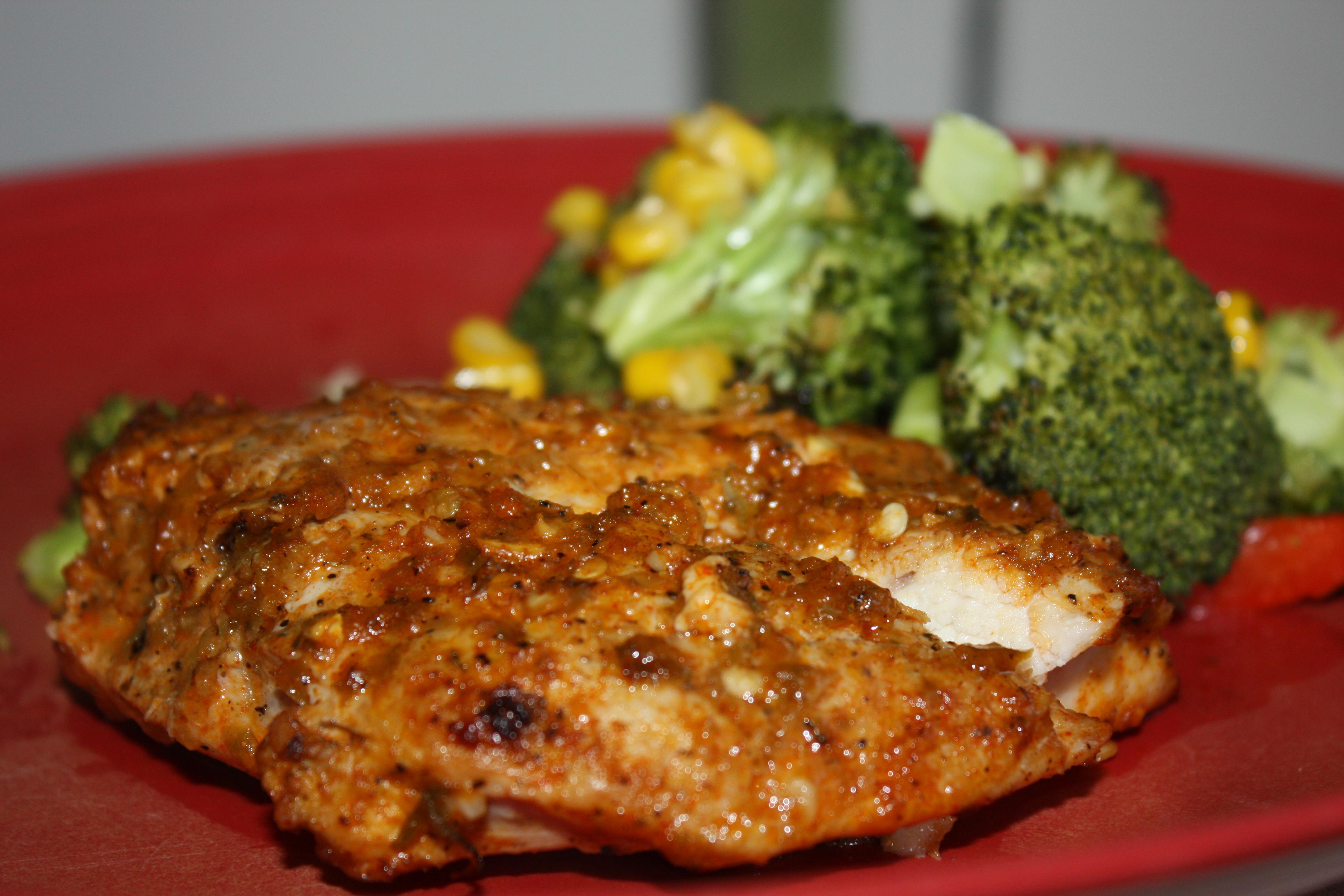 Peri Peri Chicken Breast | lawstudentscookbook