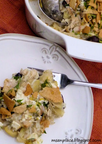 Greek Chicken Casserole Recipe — Dishmaps